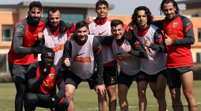 Kayserispor'da Hatayspor maçı hazırlıkları sürüyor!