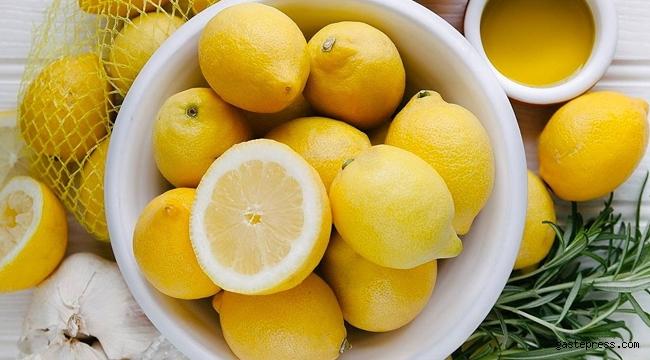 Limonun faydaları saymakla bitmiyor!