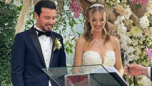 Spor camiasını buluşturan düğün!