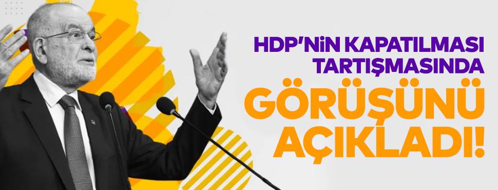 Temel Karamollaoğlu'ndan 'HDP'nin kapatılması' yorumu geldi!