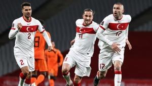 Türkiye-Hollanda maçına Burak Yılmaz'ın damgası!