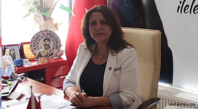 CHP Kayseri İl Başkanı Ümit Özer ''Demokrasilerin vazgeçilmez unsuru bağımsız yargıdır''