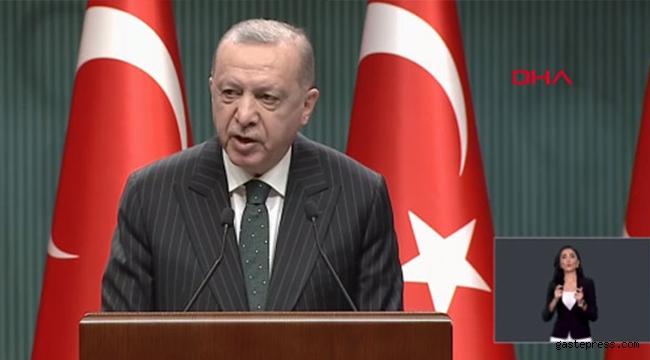 Erdoğan, Beştepe'deki Kabine Toplantısı'nın ardından açıklama yaptı!