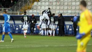 Erzurum'da kazanan Beşiktaş oldu!
