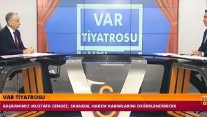 Galatasaray Başkanı Mustafa Cengiz: Böyle militan bir VAR hakemi dünyada yok!