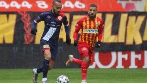 HK Kayserispor sahasında, Antalyaspor'a tek golle boyun eğdi!