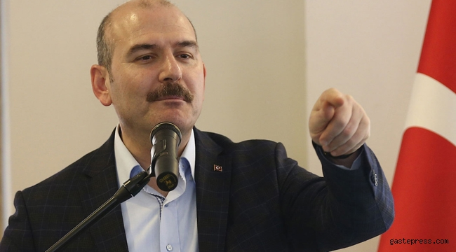 İçişleri Bakanı Süleyman Soylu Cumhuriyet'in haberine tepki gösterdi!