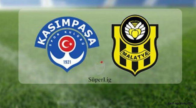 Kasımpaşa ile Y. Malatyaspor eşitliği bozamadı!