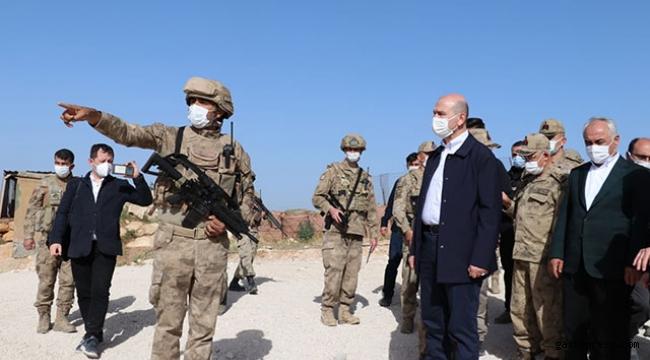 Bakan Soylu'dan Gabar'da üs bölgesindeki güvenlik güçlerine ziyaret!