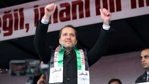 Erbakan'dan hayati 'Filistin' çağrısı: Acilen TSK öncülüğünde Barış Gücü kurulmalı!