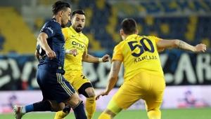 Fenerbahçe, Ankara'da son dakika golüyle kazandı!