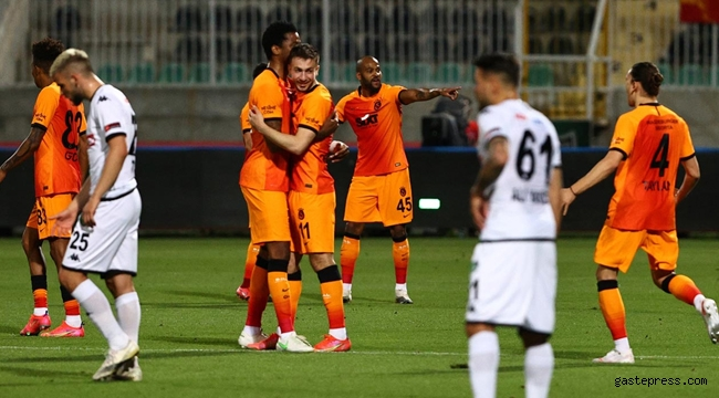 Galatasaray Süper Lig'de şampiyonluğa ciddi aday oldu!
