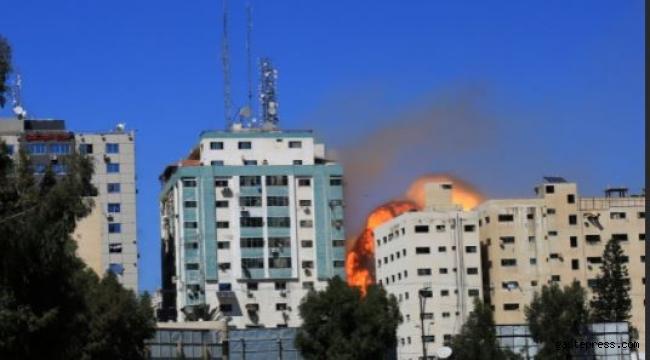 İsrail Medya Devlerinin Binasını Vurdu!