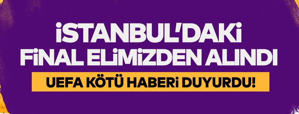 İstanbul'daki Şampiyonlar Ligi finalinin adresi değişti!
