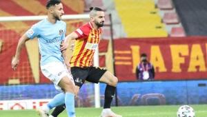 Kayserispor, Gaziantep FK maçından gol sesi çıkmadı!