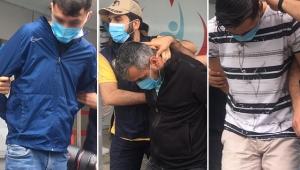 Otogarda patlayıcı ile yakalanan şüpheliler adliyeye sevk edildi!
