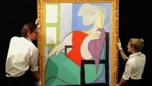 Picasso'nun tablosu 103 milyon dolara satıldı!