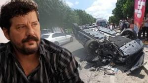 Ünlü Oyuncu İlker Aksum Adana'da trafik kazası geçirdi!