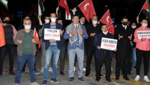 Yeniden Refah Partisi Kayseri İl Başkanlığı, İsrail'i protesto etti!