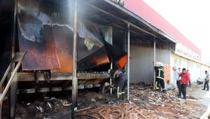 Ahşap fabrikasının talaş silosunda yangın!