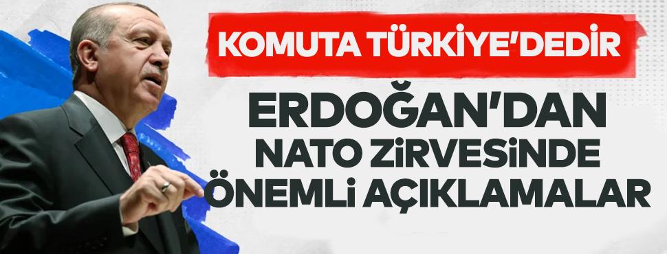 Cumhurbaşkanı Erdoğan'dan NATO zirvesinde önemli mesajlar!