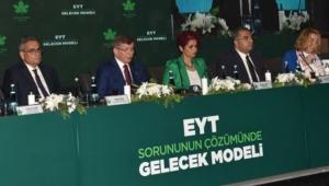 Davutoğlu'ndan EYT açıklaması!
