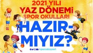 Kayseri Büyükşehir'e Ait Yaz Spor Okul Kayıtları Başladı!