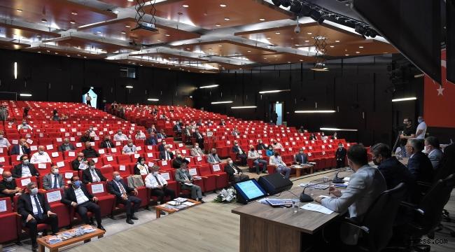 Kayseri Büyükşehir Meclisi'nde 29 gündem maddesi karara bağlandı