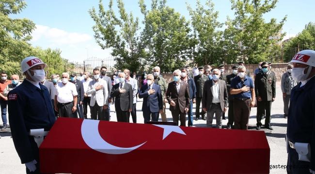 Kayseri'de Kore Gazisi hayatını kaybetti!