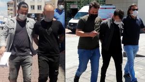 Kayseri'de uyuşturucu ticaretine 2 tutuklama