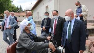 Kayseri Kocasinan Belediye Başkanı Ahmet Çolakbayrakdar Himmet Dede Mahallesi Sakinlerini Ziyaret etti!