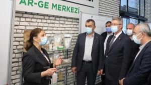 Kayseri Sanayi Odası Heyeti Kayseri Şeker'i Ziyaret Etti!