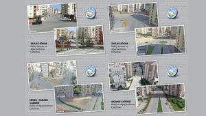 Kayseri Talas'ta refüj ve kavşaklarda önemli değişim!