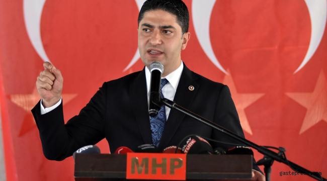 MHP'li Özdemir: Türkiye'nin geleceğinde terörden medet uman siyasilere yer yok!