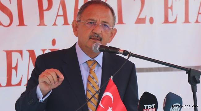 """Özhaseki Muş'ta Konuştu: """"Sol Belediyelerin Son Dönemlerde Bütün İşleri Algı Belediyeciliğidir"""""""