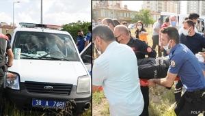 Polis aracı ile otomobil çarpıştı: 2'si polis 5 yaralı!