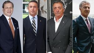 4 büyüklerin başkanları Türk futbolunun sorunlarını konuştu! Yabancı sınırı, harcama limitleri, yayın geliri...