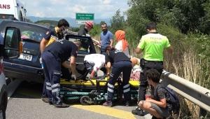 Çocuğunun tuvalet ihtiyacı için duran sürücü kazaya neden oldu: 6 yaralı!