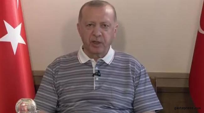 Cumhurbaşkanı Erdoğan'dan Covid-19 açıklaması!