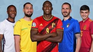 EURO 2020'nin en iyi ilk 11'i belli oldu!