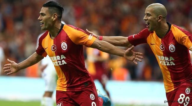 Galatasaray'da Falcao ve Feghouli kararı!