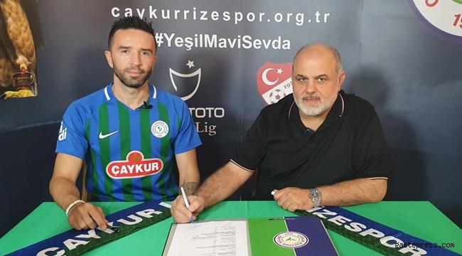 Gökhan Gönül, Ç. Rizespor ile 2 yıllık sözleşme imzaladı!