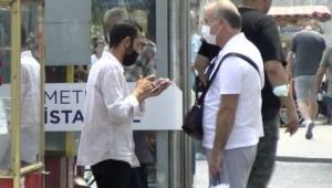 İstanbul'da bir kişi Turistlere kendi HES kodunu satarken yakalandı!