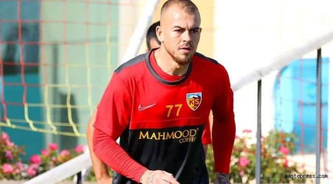 Kayserispor'da Denis Alibec, Rumen CFR Cluj'a kiralandı!