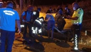 Otomobiller çarpıştı: 5 yaralı!