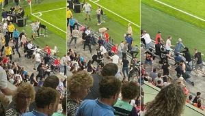 PSV - Galatasaray maçının devre arasında gerginlik!