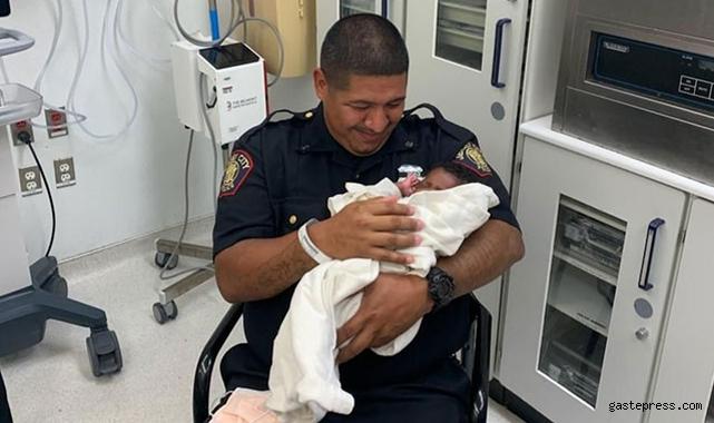 ABD'de polis, ikinci kattan atılan 1 aylık bebeği tuttu!