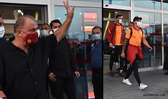 Galatasaray kafilesi Kayseri'ye geldi!
