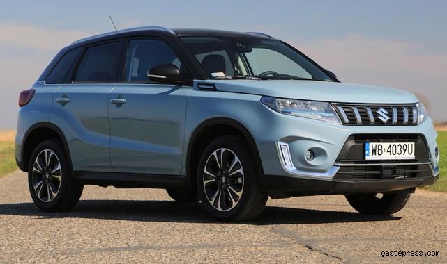 Suzuki chip krizinden etkilenmedi Suzuki Vitara Hibrit'te Autoshow'da!