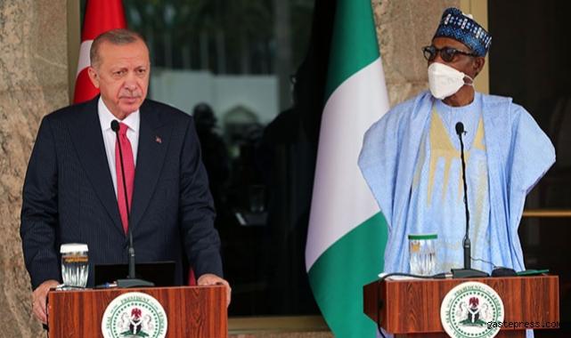 Cumhurbaşkanı Erdoğan: Savunma sanayi imkanlarımızı Nijerya ile paylaşmaya hazırız!